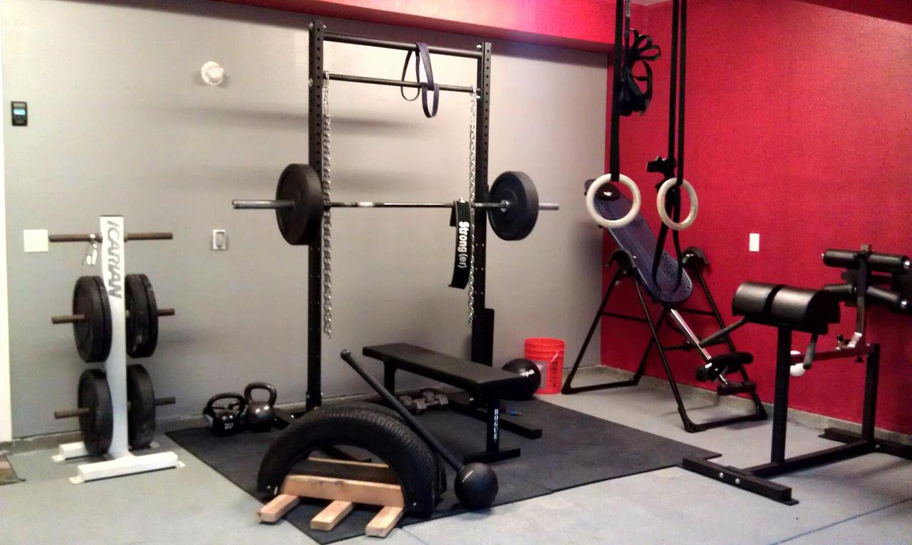 Crossfit garage gym packages ppi