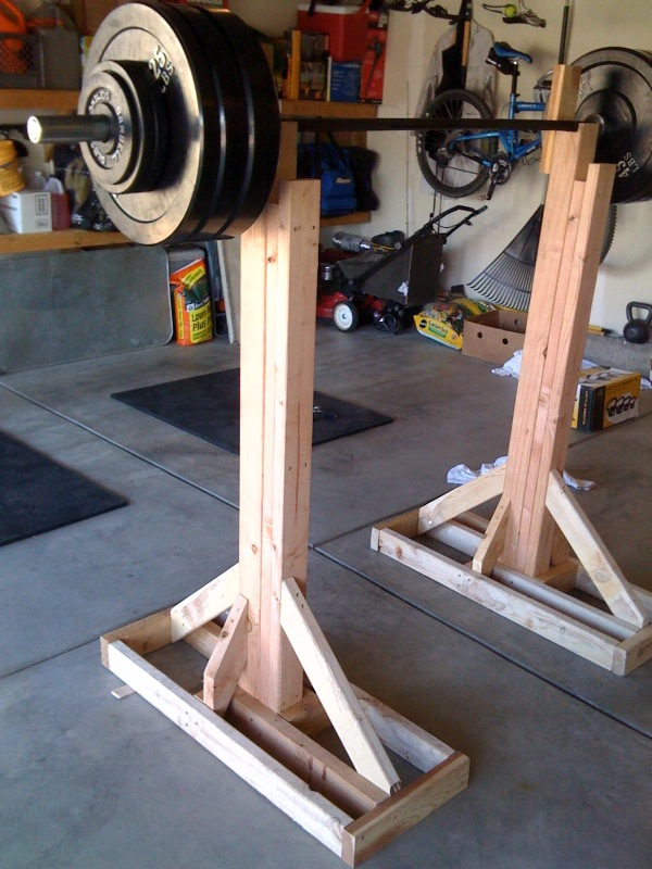Which squat stands look the best of these 3 sherdog for How to make a homemade squat rack