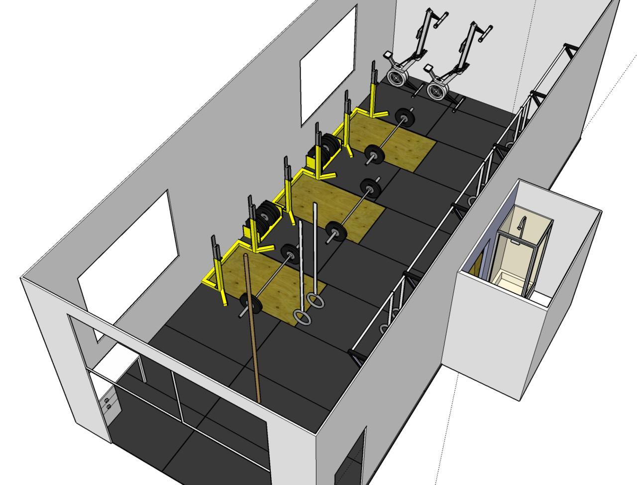 Crossfit Gym Floor Plan Home Fatare