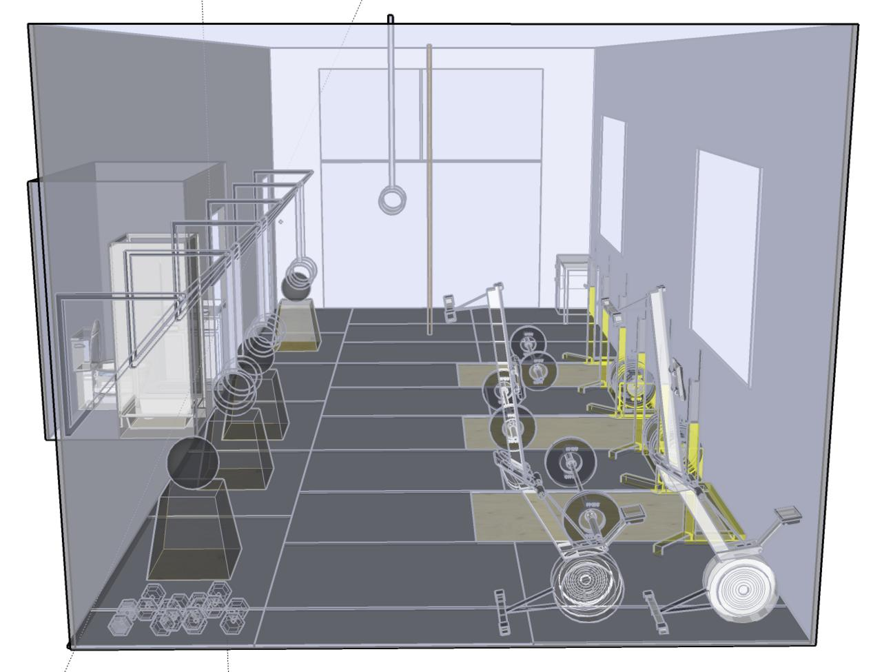 Crossfit Gym Floor Plan Gurus Floor