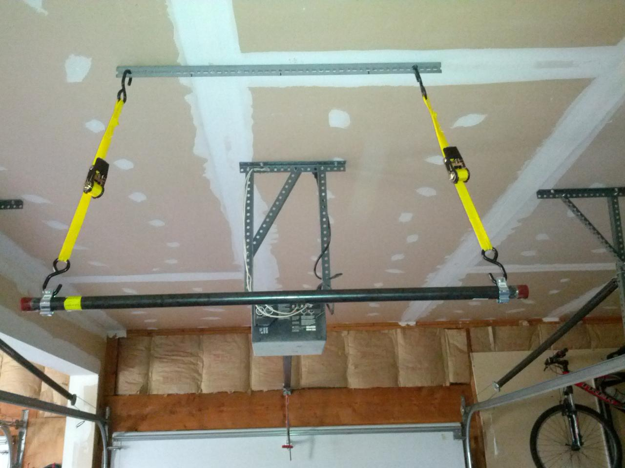 up garage sniezek pull bar audrey climbing pullup youtube rock watch installation